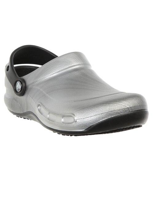Zapato Crocs Caballero Bistro Graphic Plata da8d1d48f268