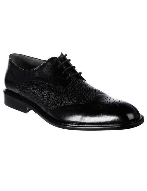 95d3527f2c Vista Rápida. Zapato derby Franco Cuadra piel negro