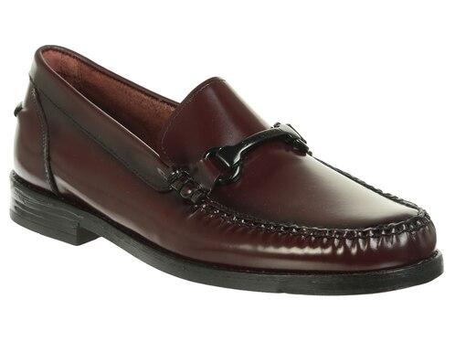 f382af0238 Zapato mocasín Quirelli piel vino