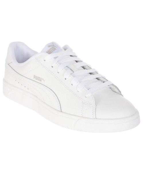 9a27cc6be Tenis Puma Court Breaker Derby piel blanco