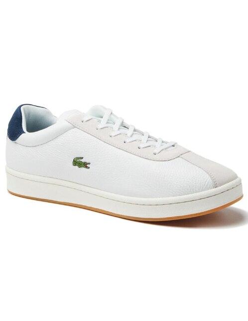 d167d6d315f Tenis Lacoste piel blanca casual