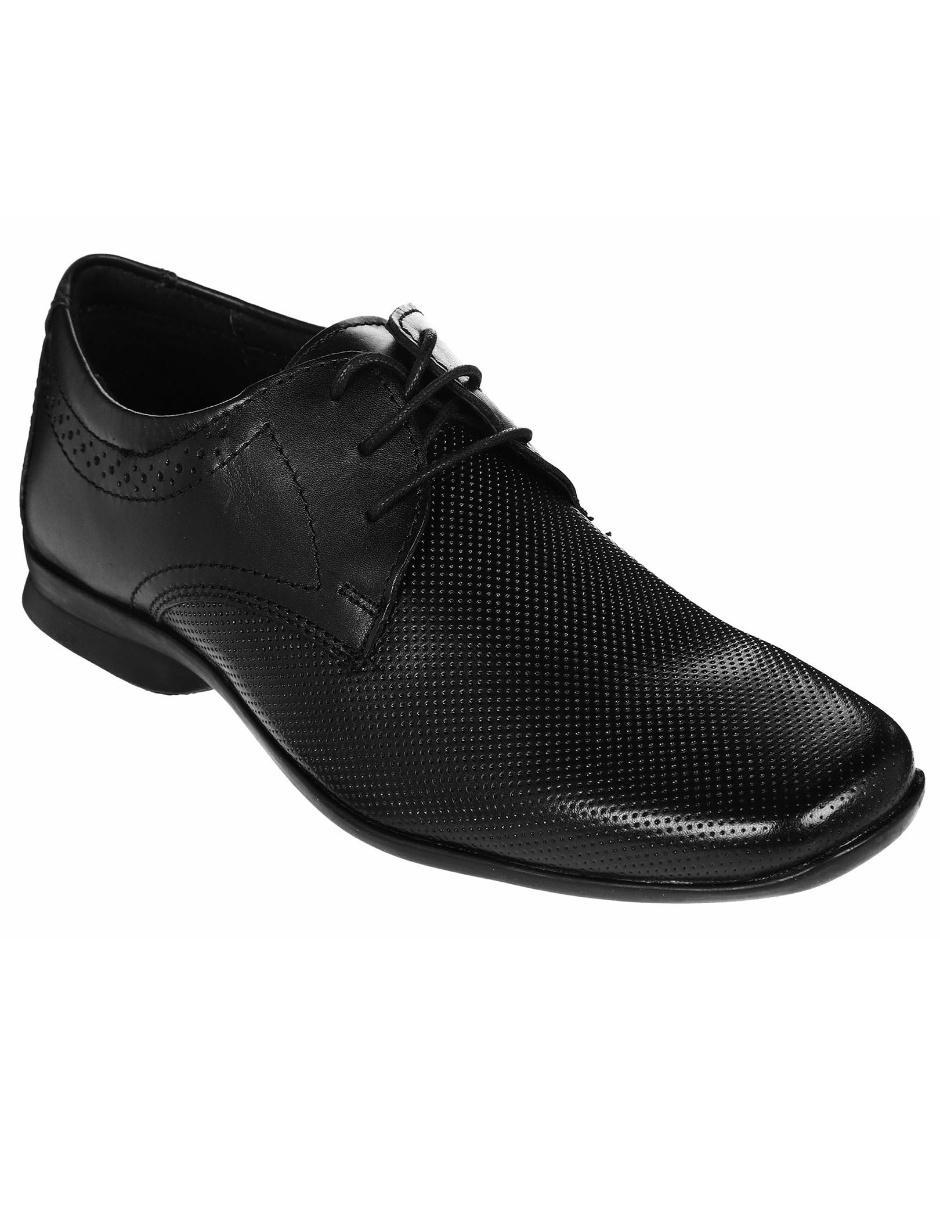 08b693da493 Zapato derby Flexi piel negro Precio Sugerido