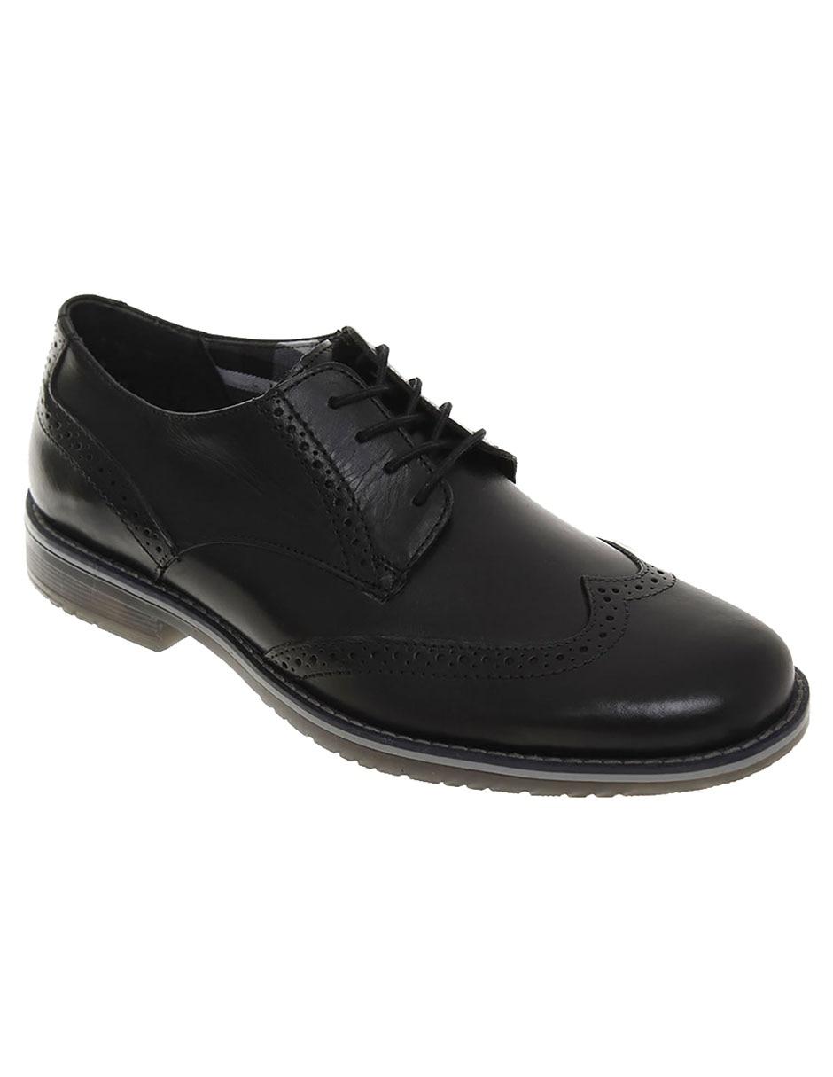 flexi zapato mocasin negro