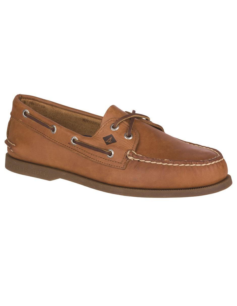 Zapato náutico Sperry piel café ae2a0a7a3261