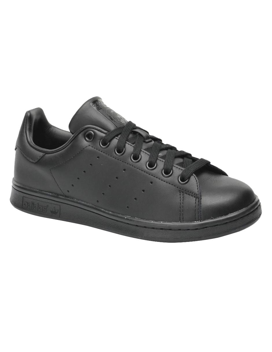 Piel Negro Smith Stan Tenis Adidas Originals qCz4Y