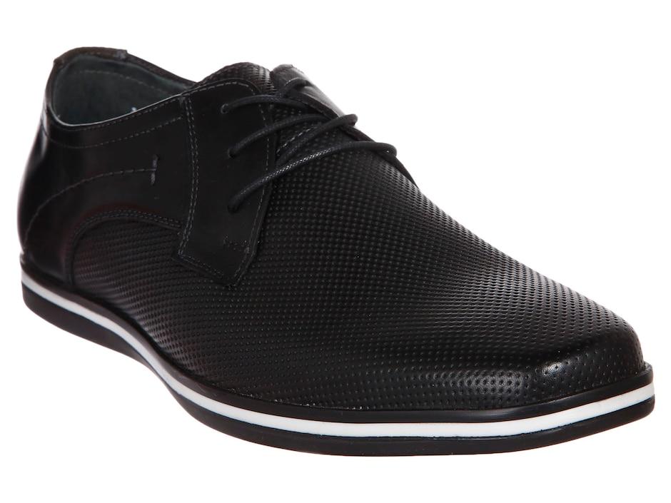 c490b3d586 Zapato derby Flexi piel negro