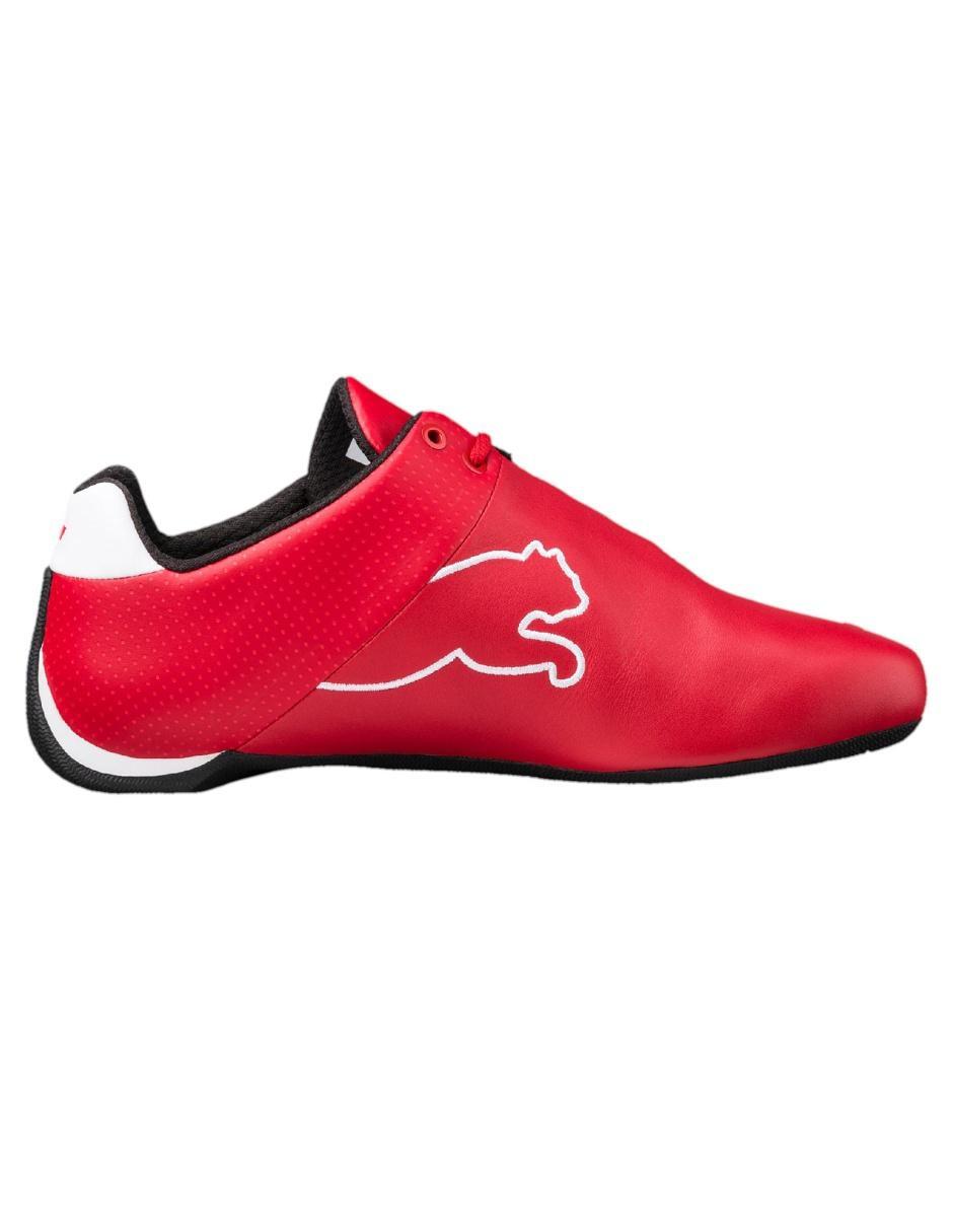 Tenis Puma Ferrari piel rojo