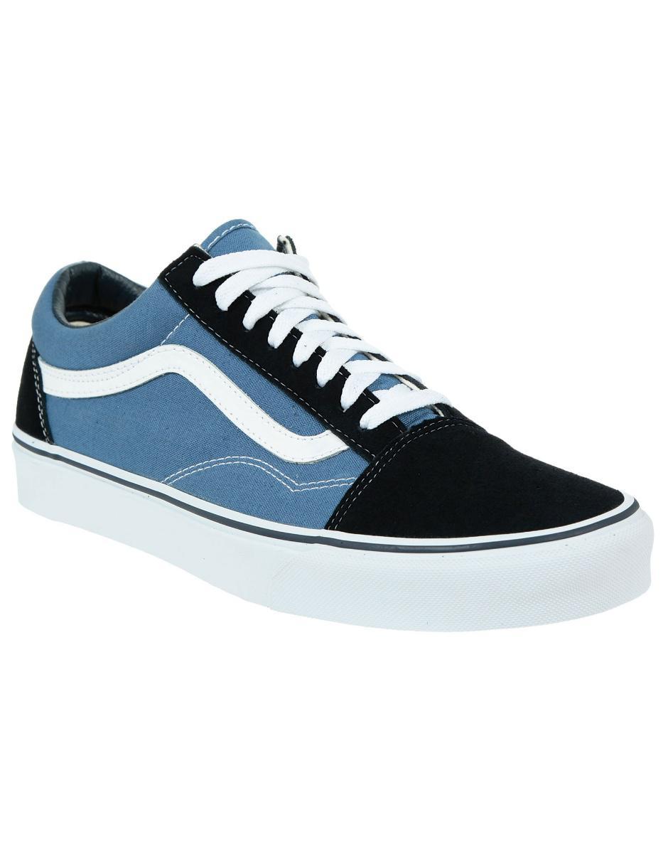 zapatillas vans azul marino hombre