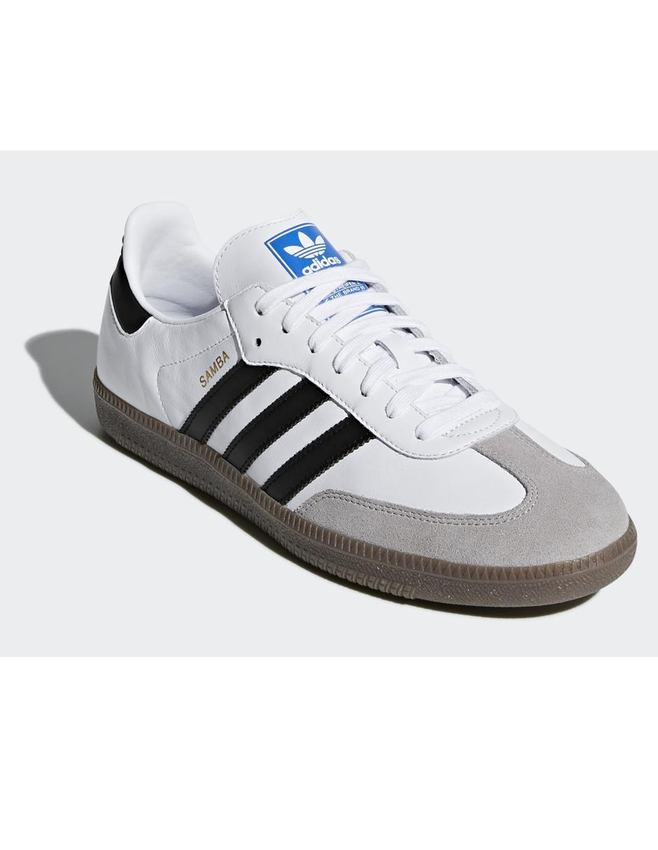 Tenis Adidas Originals piel blanco