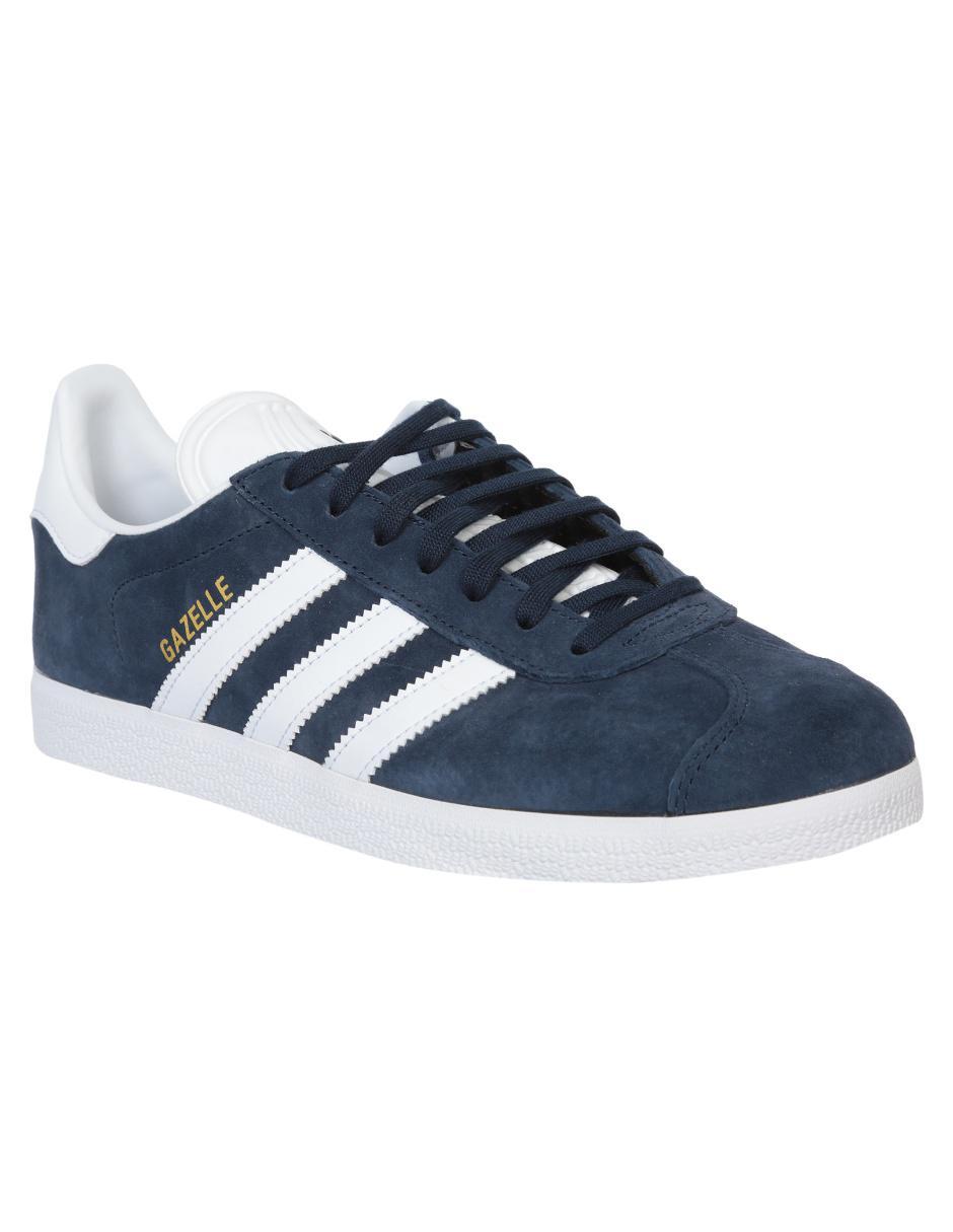 Tenis Adidas Originals gamuza azul 8ea00dca6ff9b
