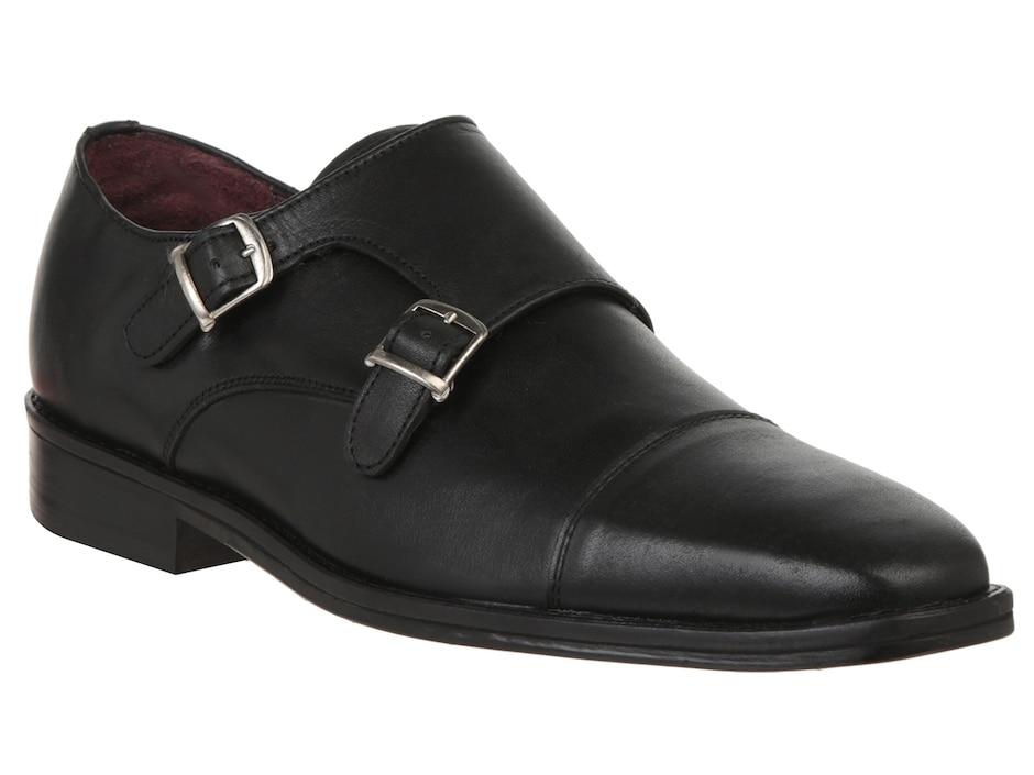Zapato monk strap Michel Domit piel 2dfc807ecc0