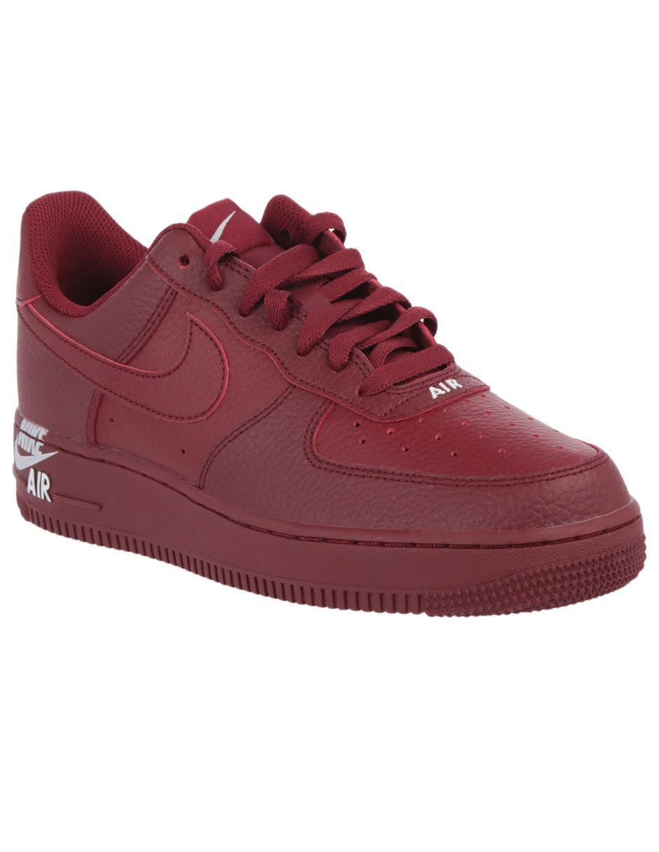 317dc4ee82a Tenis Nike piel rojo