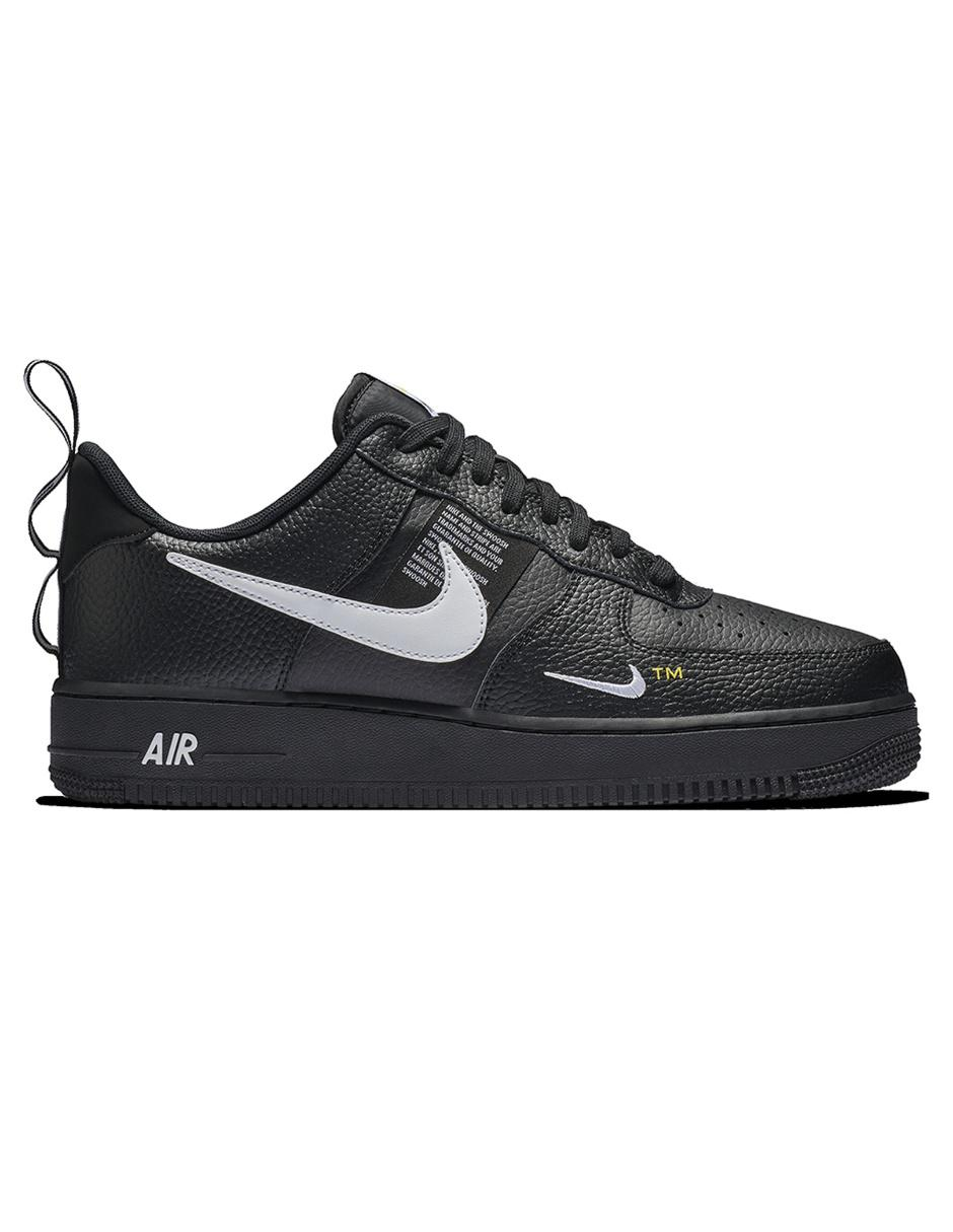 e1c4ac3621a Tenis Nike piel negro