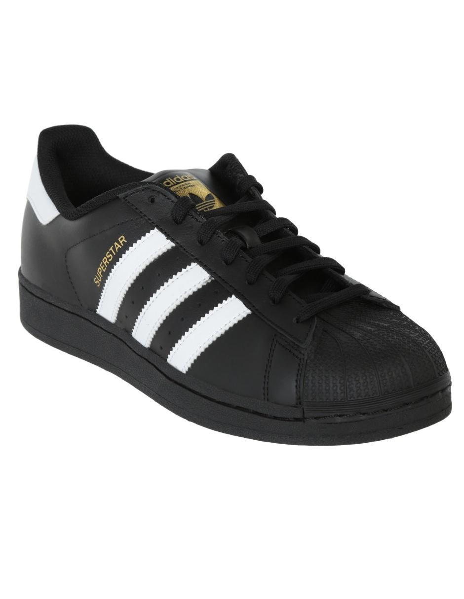 Foundation Originals Adidas Piel Tenis Superstar Negro Ow1t1x5d