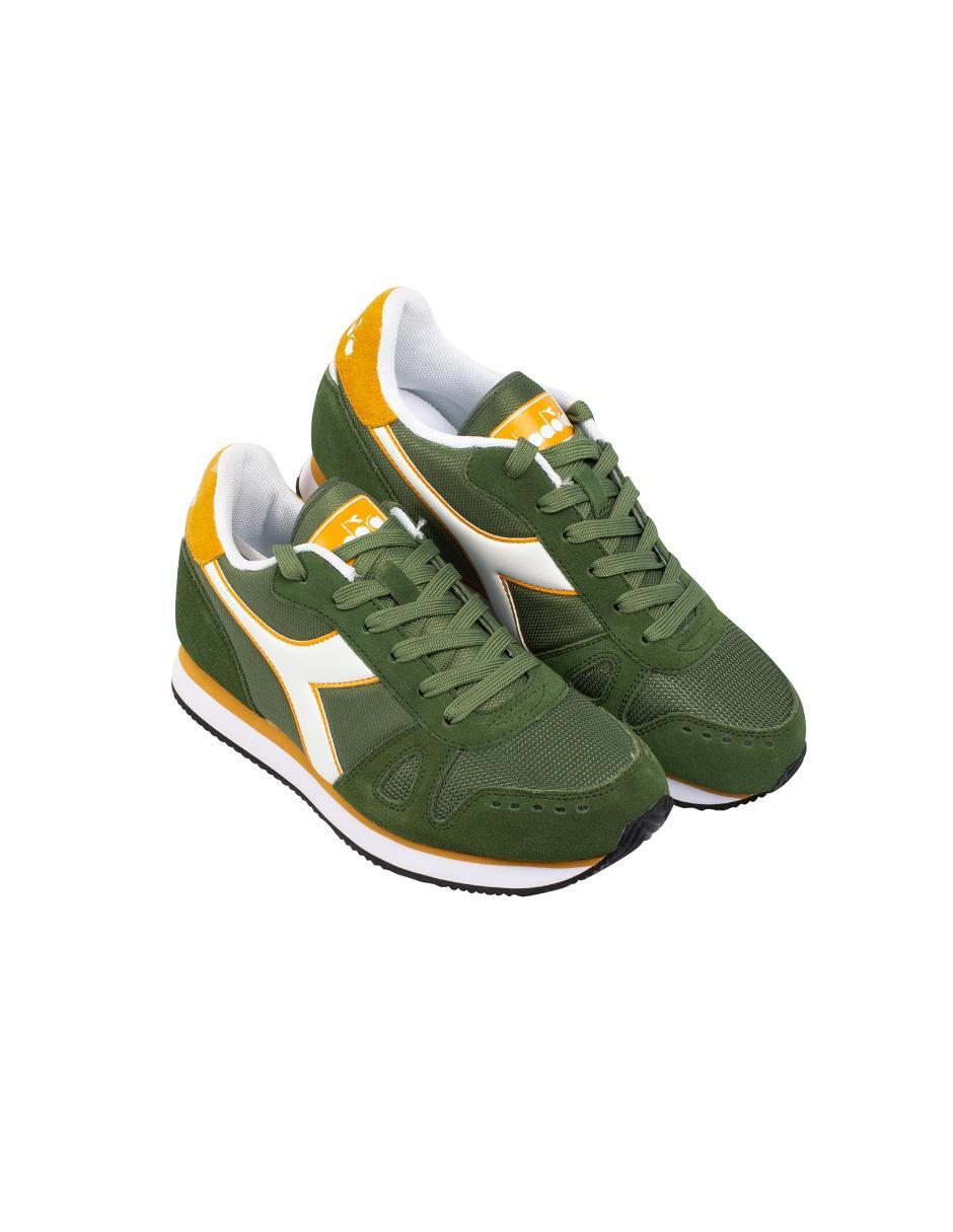 ad08514d2db Tenis Diadora Simple Run verde