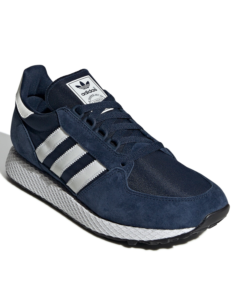 Tenis Adidas Originals Forest Grove azul