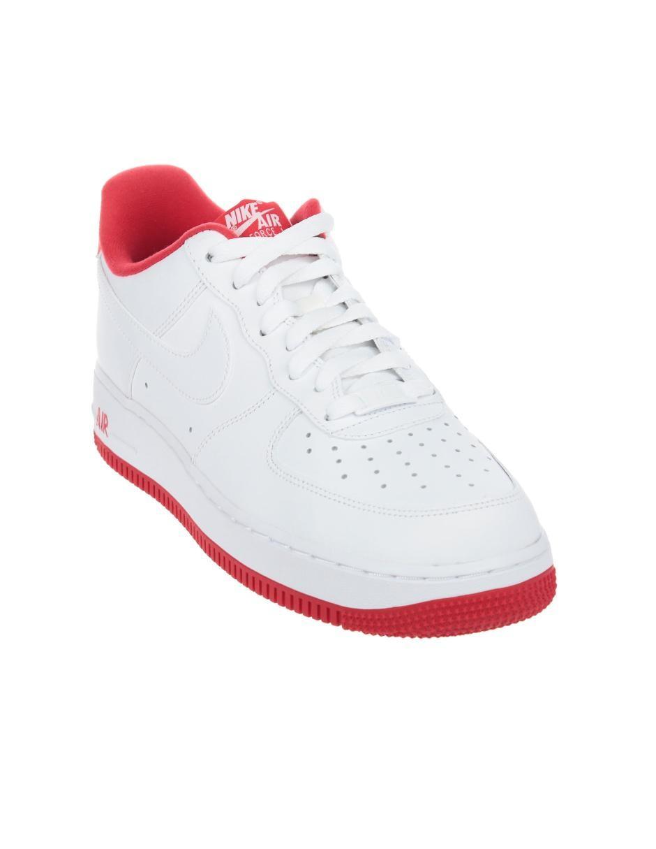 Tenis Nike Air Force 1'07 piel blanco